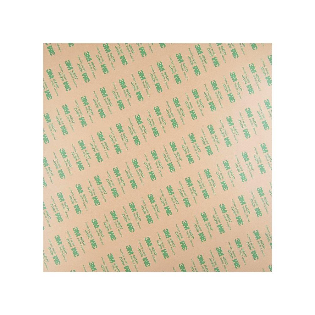 YOTINO Foglio di PEI 3D 12 * 12''/30 * 30cm Foglio PEI Adesivo con Nastro Adesivo 3M - spessore di 0, 2 mm