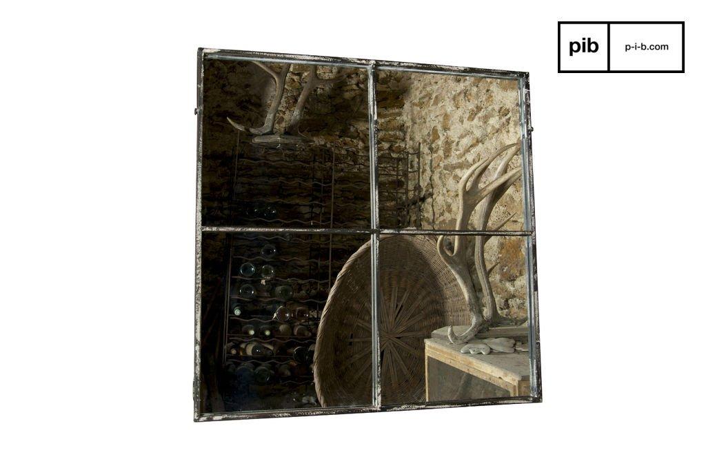 Pomax - Miroir - 4 divisions - L80 x l80cm