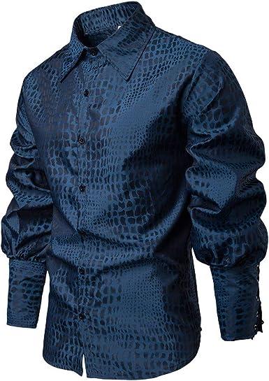 Poachers Camisas Hombre Manga Larga Fiesta Camisas Hombre Verano Grandes Camisetas Hombre Originales 3D Camisas de Hombre Manga Larga Camisas Hawaianas Hombre flamencos: Amazon.es: Ropa y accesorios