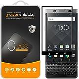 (2 Pack) Supershieldz Designed for Blackberry Keyone Tempered Glass Screen Protector, (Full Screen Coverage) Anti Scratch, Bu