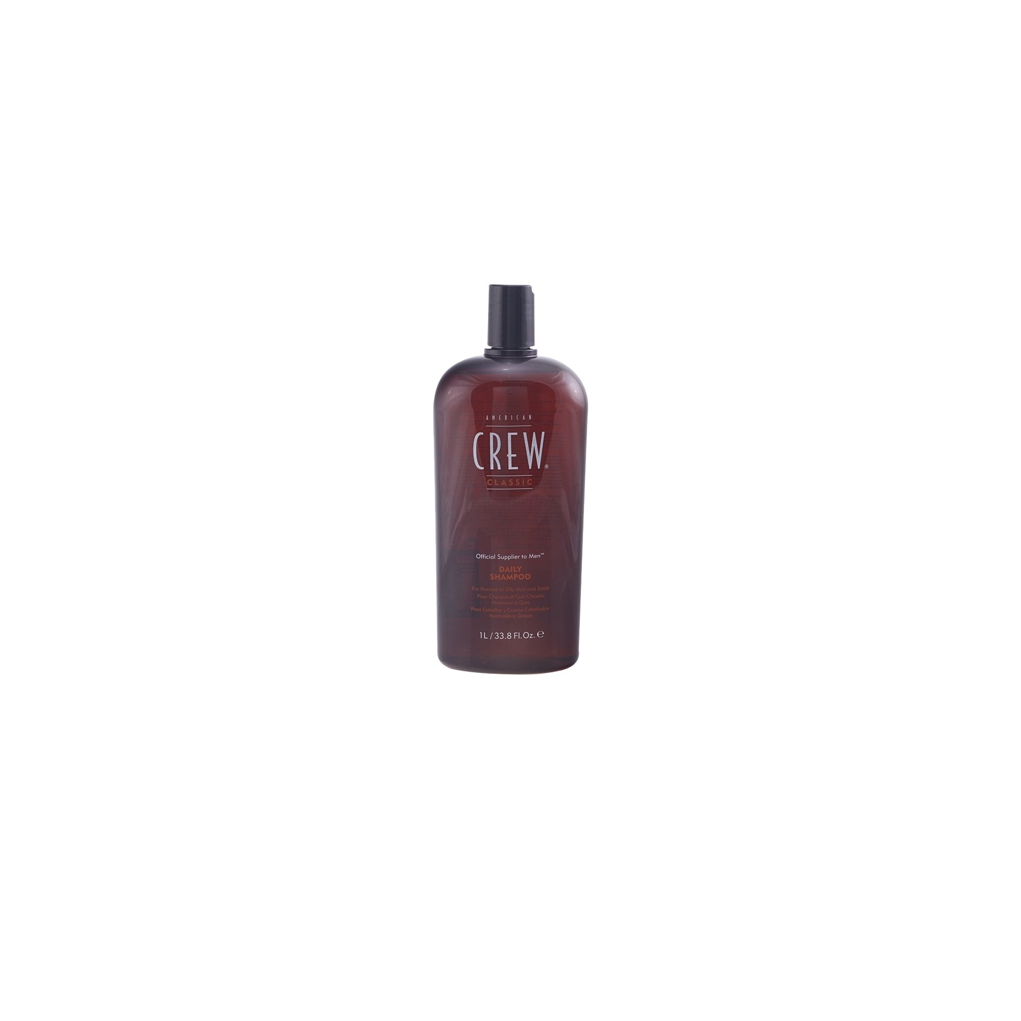 American Crew Daily Shampoo, For Normal to Oily Hair and Scalp, 33.8-Ounce Bottles (Pack of 2) - Packaging May Vary by AMERICAN CREW