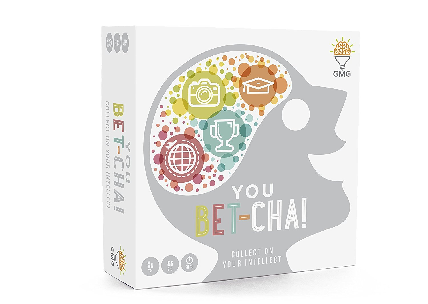 You Bet-Cha Collect on Your Intellect a Trivia Game with a Family Friendly Betting Twist by Gray Matters Games