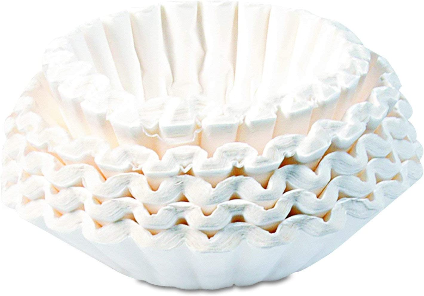 Bunn 1M5002 Commercial Coffee Filters, 12-Cup Size (Case of 1000) (CASE of 2000.)