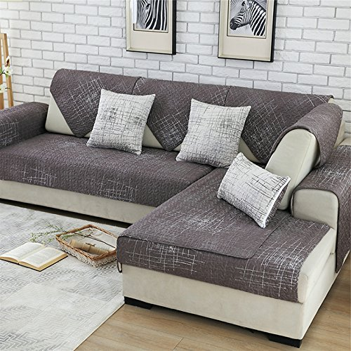 - Royhom Sofa SEAT Cover Sofa Protector Keeps Furniture Safe from Kids Dogs Pets (Not Include Backrest & Armrest Cover) Graffiti 35