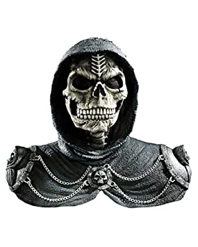 Horror-Shop Dark Reaper Mask With Shoulder Armor: Amazon co