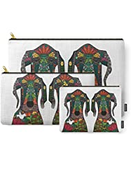 Society6 Great Dane Love White Carry-All Pouch