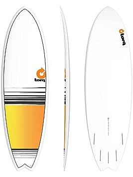 Tabla de surf Torq epoxy 5.11 Pescado Fade