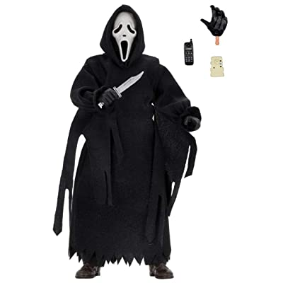 NECA Ghostface Action Figure [Clothed]: Toys & Games