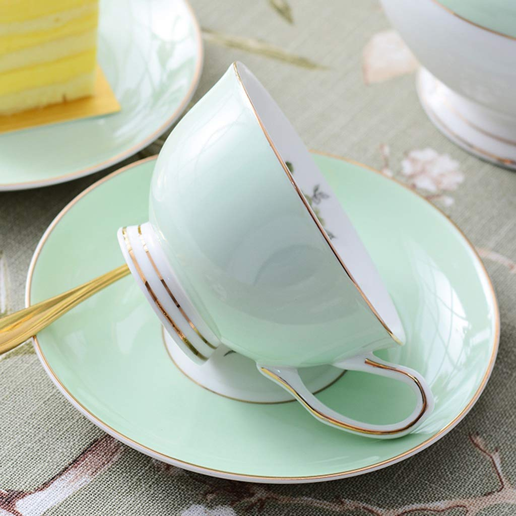 CSQ Coffee Cup Tea Set, Simple Ceramics Tea Set Meeting Room Hospitality Room Tea Set Capacity: 900ml Afternoon Tea (Color : A) by Tea set-CSQ (Image #7)