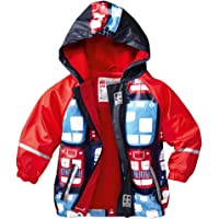 Hooded Jackets Kids Raincoat Waterproof Outerwear for Boys and Girls Outdoors