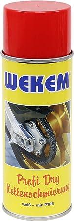 3x 400ml Wekem Kettenspray Kettenfett Ptfe Teflon Ws667 Baumarkt