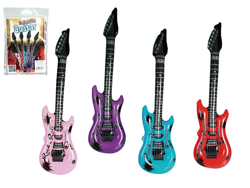 RMB® 2er Set aufblasbare Gitarre Luft-Gitarre