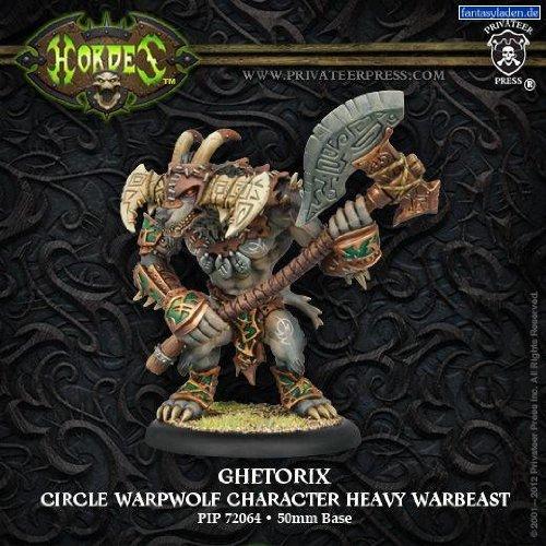 Privateer Press Hordes - Circle - Ghetorix Warpwolf Upgrade Kit Model Kit