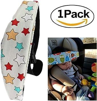 Safety Stroller Car Seat Sleep Nap Aid Head Fasten Support Child head fix belt