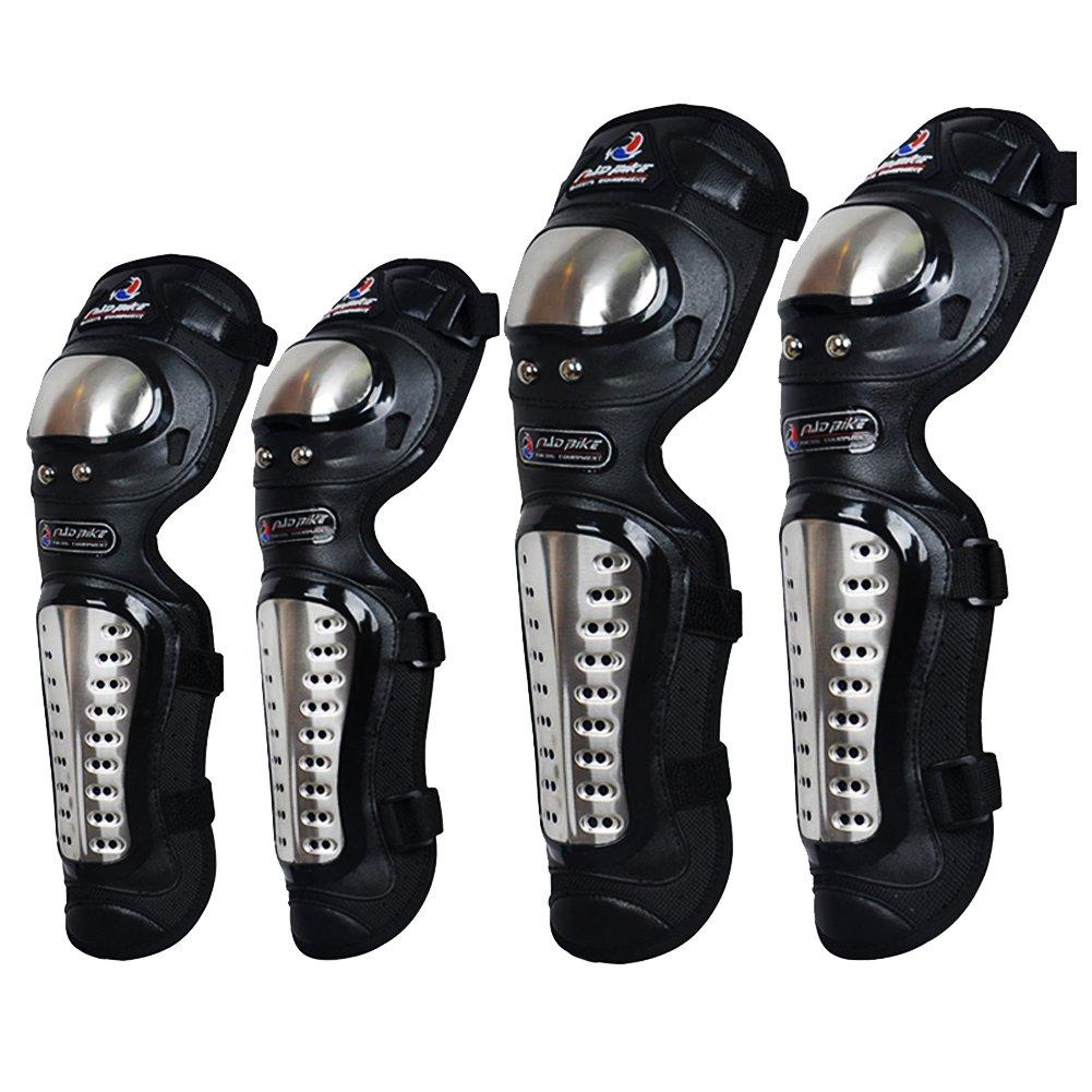 Madbike Powersports codo de la motocicleta y rodilleras Protective Gear Lening K208