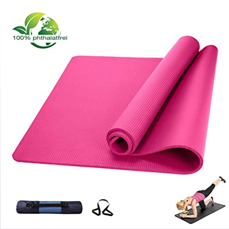 ZBHGF Colchoneta De Yoga,Esterilla De Yoga Extra Grueso 10 ...