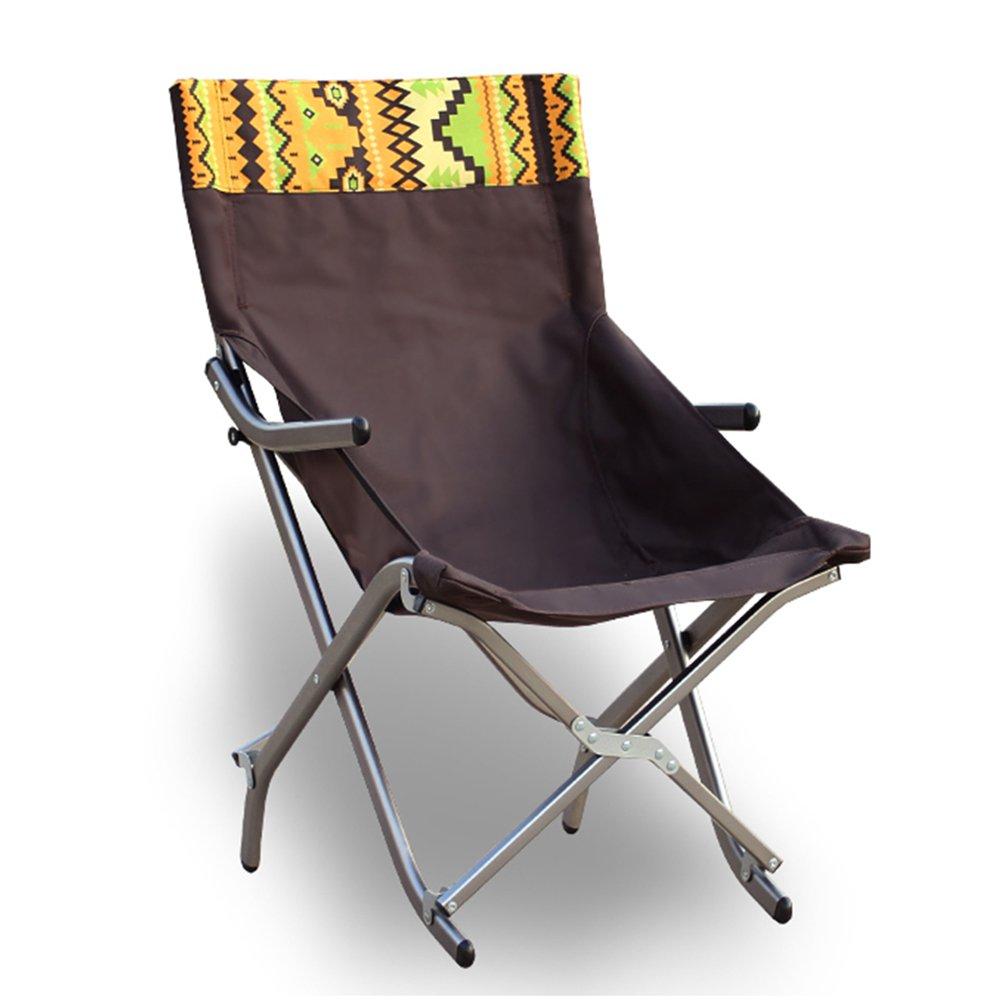 ZGL 旅行椅子 屋外折りたたみチェアアルミ合金ラウンジチェアポータブル家庭用昼食ブレイク背もたれリクライニング釣りアームチェア (サイズ さいず : S s) B07DDHYQYN S s  S s