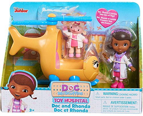 Doc McStuffins Toy Hospital - Doc and Rhonda with Lambie -