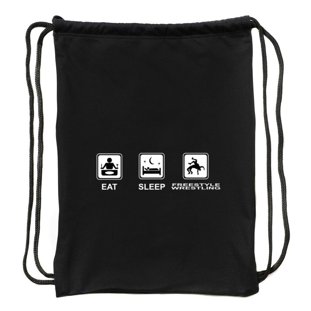 Eddany Eat sleep Freestyle Wrestling Sport Bag