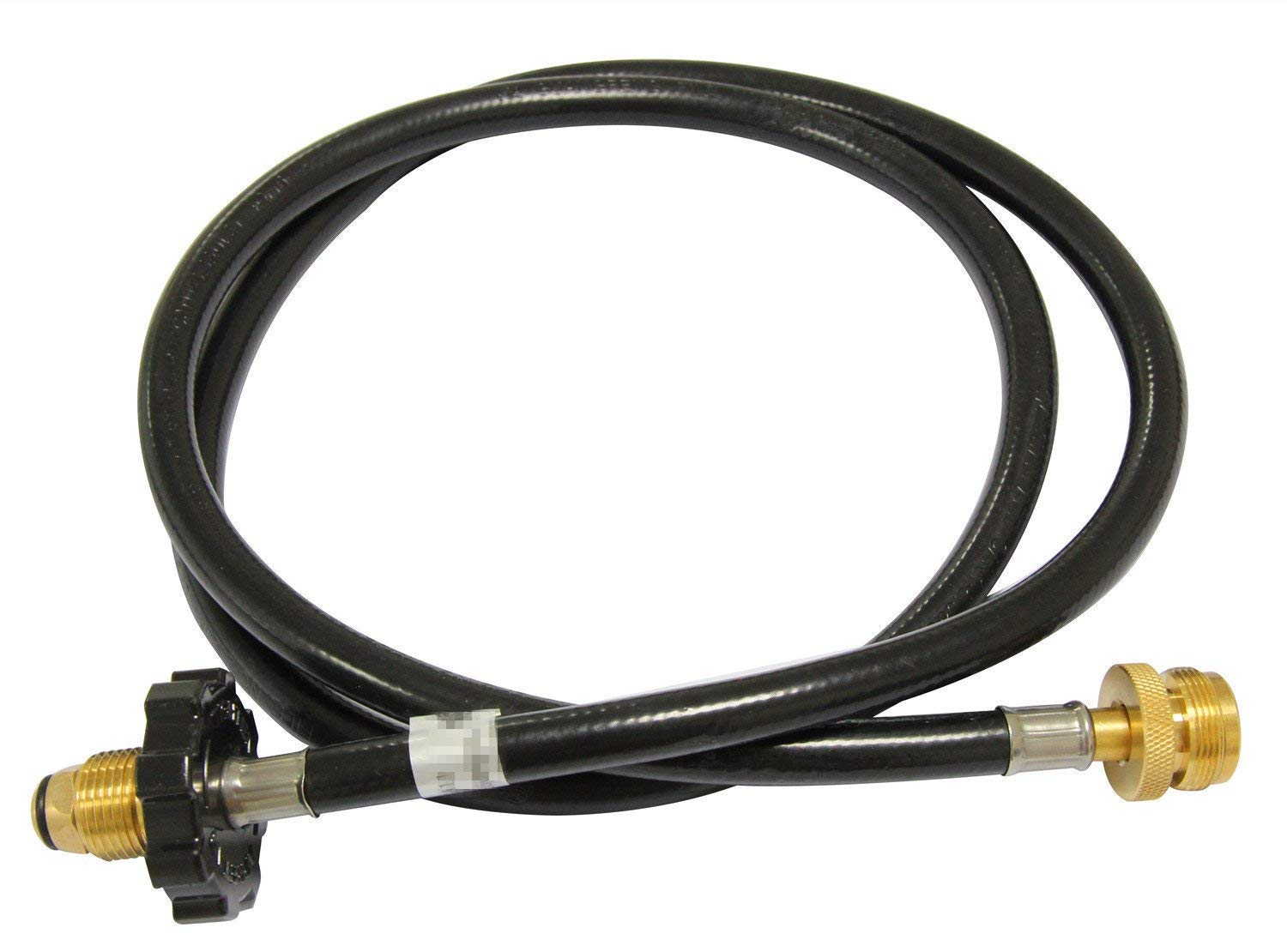 Hongso HRCC1 5-Foot High-Pressure Propane Hose and Adapter for Connecting Appliance to refillable 20lbs Propane Cylinder, CSA Certified