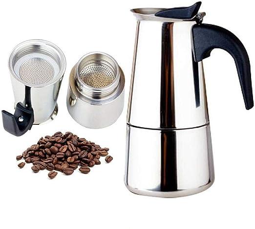 AZYJBF Cafetera Espresso/cafetera Moka Pot: Cafetera clásica Hecha ...