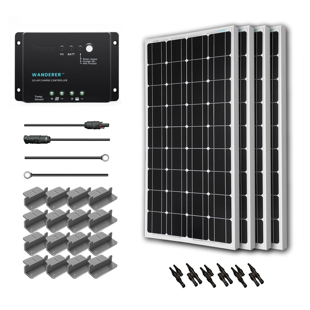20 Best Camping Rv Solar Panels Panel Kits Buying Guide Circuit 5000 Watt Power Inverter Schematic Grid Tie Micro Gel Renogy 400