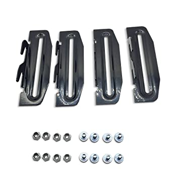Amazon.com: Metal Bed Frame #35 Hook Plate Conversion Bracket ...