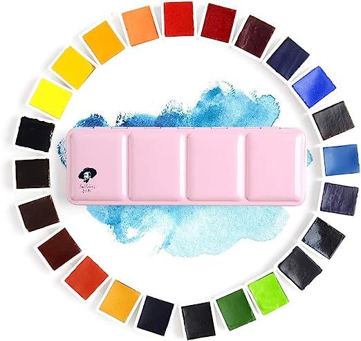 Paul Rubens 24 Aquarellfarben Set Lebendige Farben In