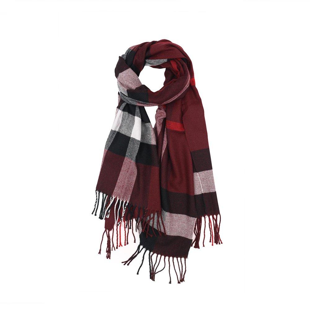 ZZ-YY Schal//Damen//Herbst und Winter//Fashion Schal//Quaste Schal//Bedruckte Schal//Schal//Lange Stola//Seide Schal