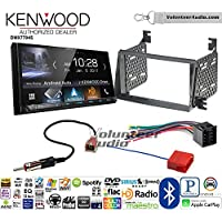 Volunteer Audio Kenwood DMX7704S Double Din Radio Install Kit with Apple CarPlay Android Auto Bluetooth Fits 2009-2011 Hyundai Azera