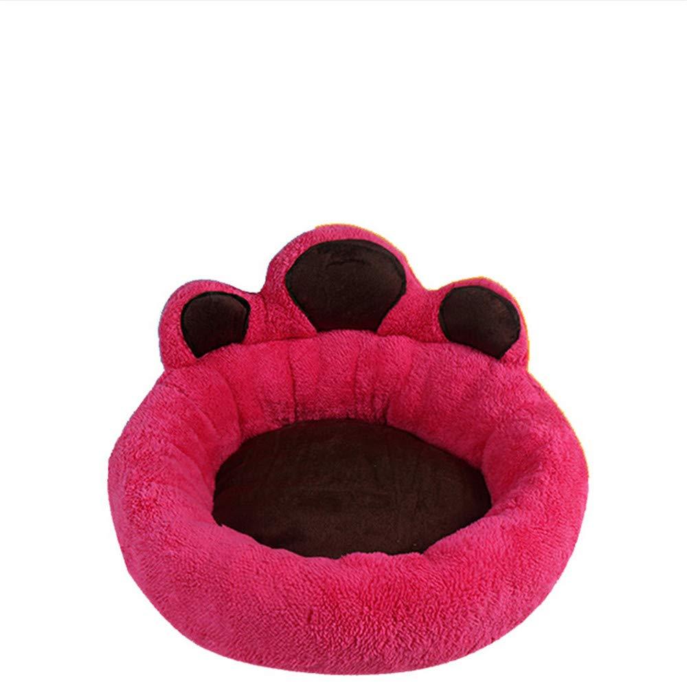 fino al 60% di sconto Wuwenw Caldo Morbido Pet Dog Bed Mat rossoondo Cane Cane Cane Divano Letto Per Cuccioli Gattini Traspirante Creativo Orso Artiglio Modello Cuscino Letto Forniture Per Animali 44X44X13 Cm  grandi prezzi scontati