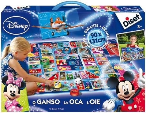 Diset - Juego Gigante de la Oca con Personajes Disney (46579): Amazon.es: Juguetes y juegos