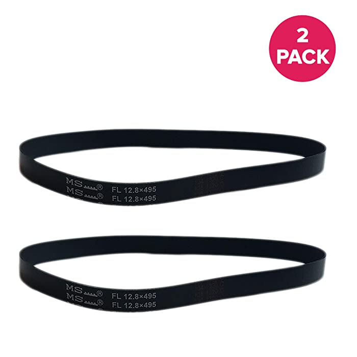 Think Crucial 2 Replacements for Eureka R Belt Fits 4800 SmartVac Series, Compatible With Part # 61110 & 61110B, Long Life & Durable