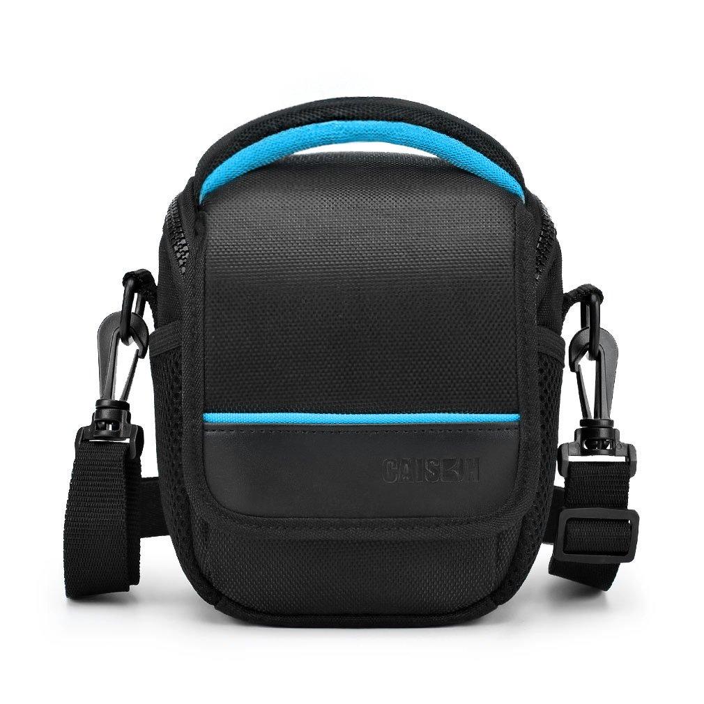 CAISON Camera Bag Case For Brigde Mirrorlees Camera SONY A6500 A6300 A6000 A5100 NIKON B700 B500 Canon PowerShot SX540 HS EOS M50 M100 M3 M6 OLYMPUS E-PL9 Panasonic Lumix GX850