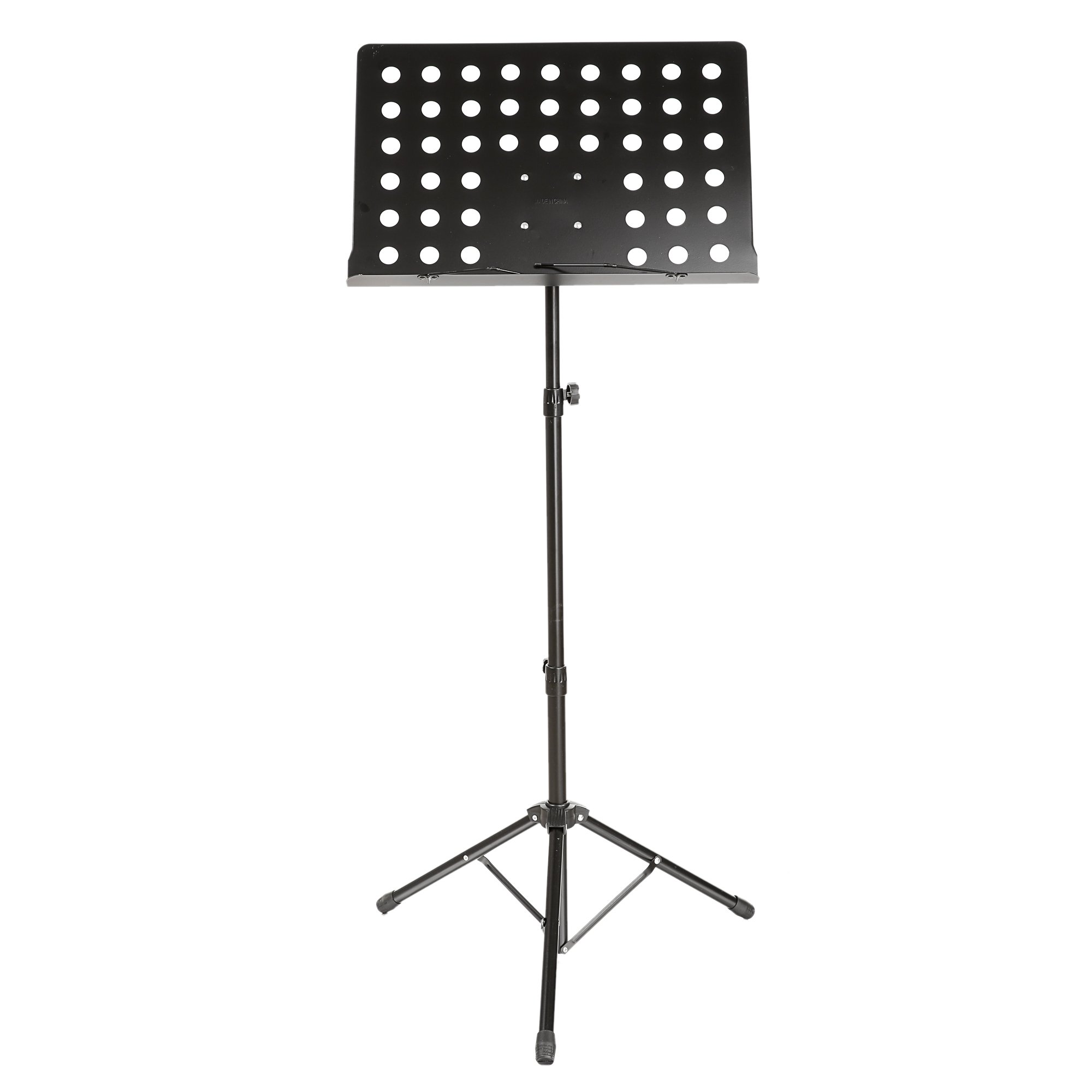 Kaluo Music Conductor Stand, Adjustable Height Metal Sheet/Book Tripod Holder with Carrying Bags for Instrumental Performance