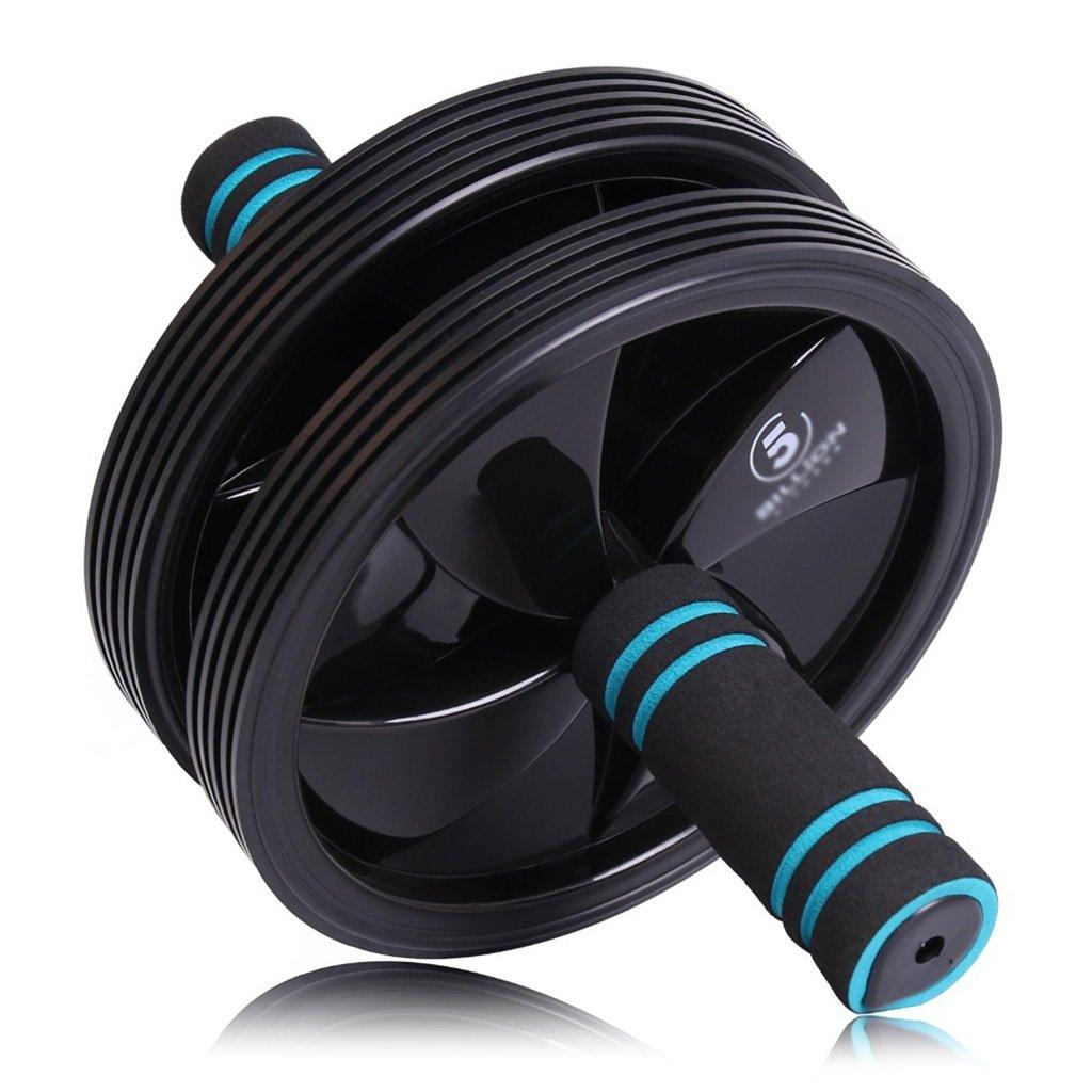 Fitness Double Ab Rad Roller Sport Rad Mit Schaum Griff Griff Bauchmuskel Übung Und Heim Fitness Ausrüstung Bauch Core Übung Mat (Farbe    1)