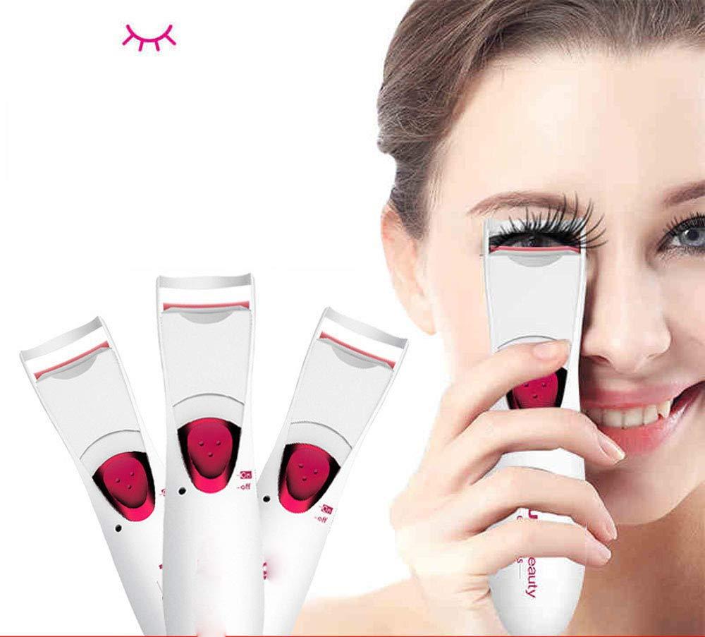 RSTJBH Heated Eyelash Curler Long Lasting Electric Eyelash Eyes Cosmetic