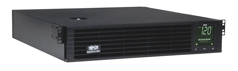 Tripp Lite SMART2200RM2U 2200VA 1920W UPS Smart Rackmount AVR LCD 120V USB DB9 SNMP 2URM, 8 Outlets