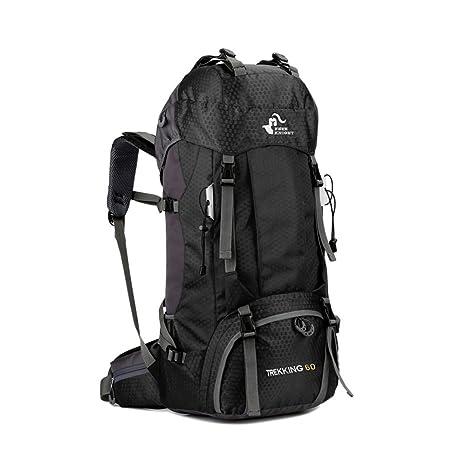 4de5740f30 Lixada Free Knight 60L Hiking Backpack Mountaineering Camping Trekking  Travel Bag Large Capacity Internal Frame Water