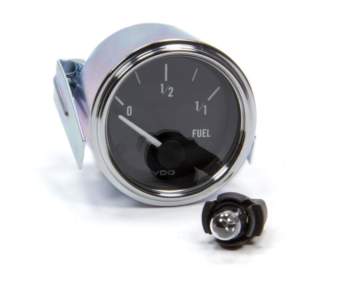 VDO 301-303D 301303 Series 1 Style Electrical Fuel Level Gauge 2 1/16' Diameter For Select GM Sender, 0-90 Ohms
