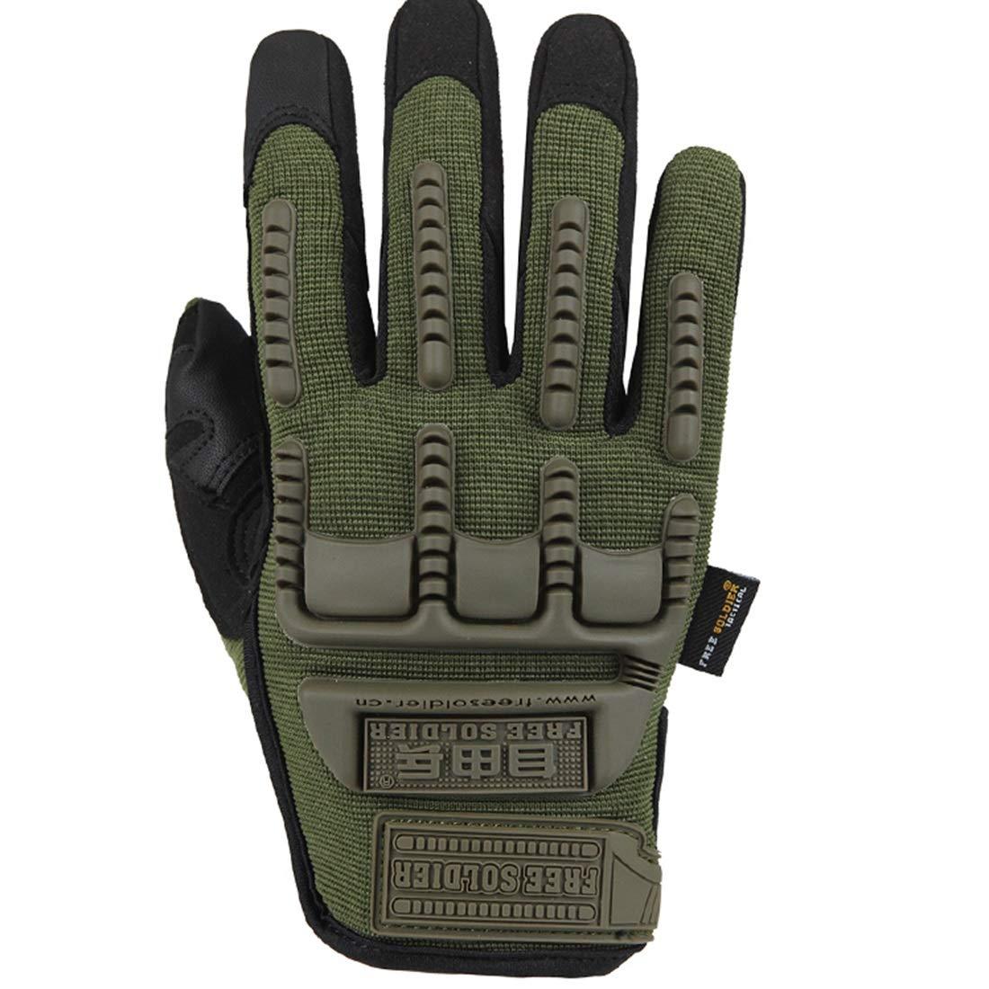 JESSIEKERVIN YY3 Taktische Handschuhe des im Freien Armeefans, die Taktische rennende volle Fingerhandschuhtouch Screen Handschuhe reiten