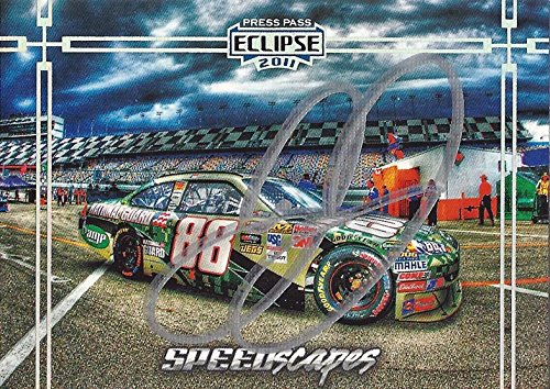 - AUTOGRAPHED Dale Earnhardt Jr. 2011 Press Pass Eclipse Racing SPEEDSCAPES (#88 National Guard Digital Camo) Hendrick Motorsports Signed NASCAR Collectible Trading Card with COA