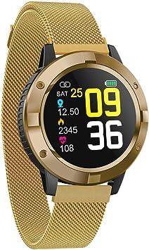 RanGuo - Reloj Inteligente para Hombres Mujeres y niños, Bluetooth ...