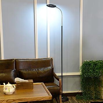 Luces de Piso LED Protección para los Ojos Lámpara de Pie ...