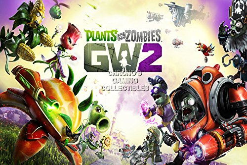 CGC Huge Poster - Plants VS Zombies Garden Warfare 2 PS3 XBOX 360 PC - EXT284 (24
