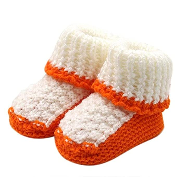 logobeing Bebé ReciéN Nacido Chico Chica Zapatos de Ganchillo,Tejido de Punto Encaje Profesional Artesanal (Azul): Amazon.es: Zapatos y complementos