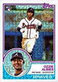 #6: 2018 Topps 1983 Chrome Silver Refractor #26 Ozzie Albies Baseball Rookie Card