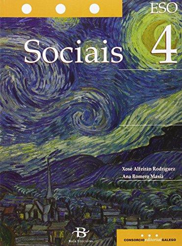 Descargar Libro Sociais De 4º De Eso Xosé Alfeirán Rodríguez
