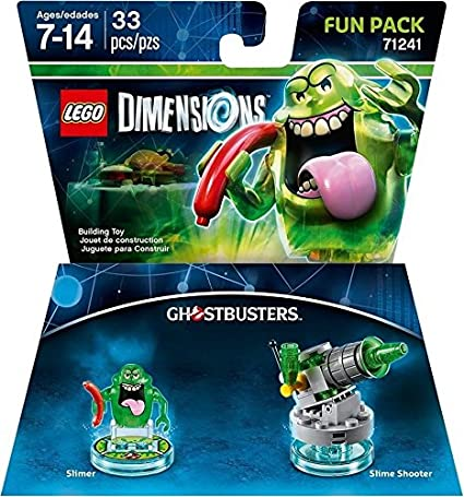Ghostbusters Slimer Fun Pack - LEGO Dimensions: Amazon.es: Videojuegos