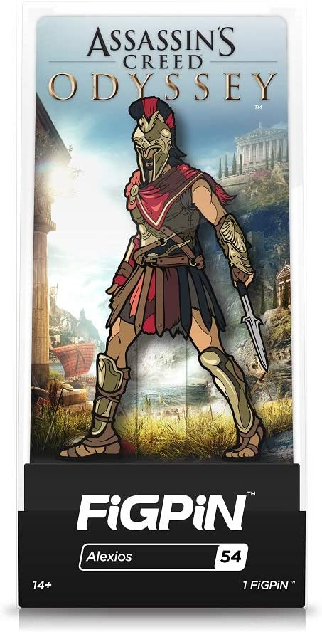 Amazon Com Figpin Assassins Creed Odyssey Alexios Toys Games